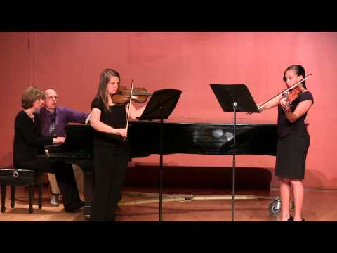 Columbia College, SC, Chamber Ensemble - Trio No. 1 by Beethoven