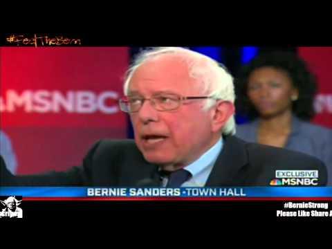 Bernie Sanders Democratic Town Hall 4/25/2016