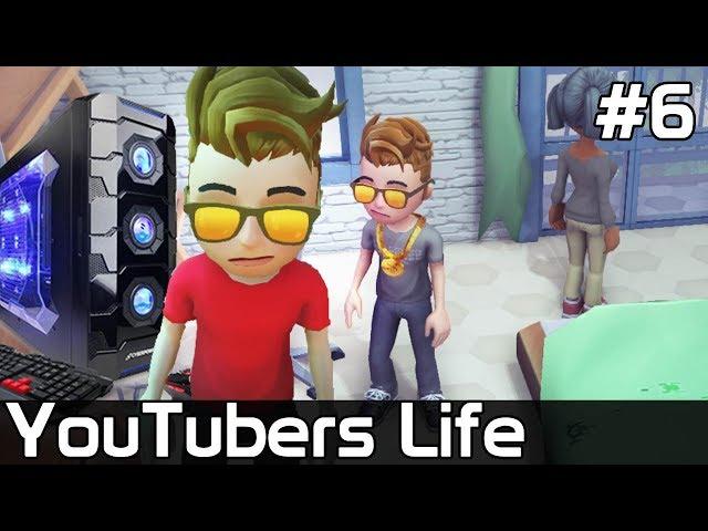 YouTubers Life PL [#6] NOWY PC - Nagrywam z LOSZKĄ ❤