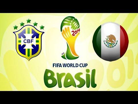 Brasil vs Mexico Copa Do Mundo - PES 2014 FASE DE GRUPOS