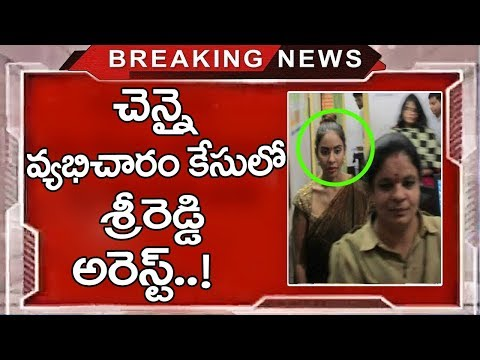 Actor Sri Reddy Arrested In Chennai S**x Rocket| Srireddy Tamil Leaks | TTM