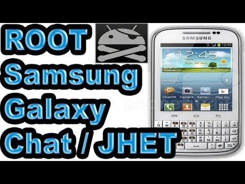 ROOT y Recovery: Samsung Galaxy Chat (GT-B5330. B5330L y B5330B) / Facil. Español. Explicado / JHET