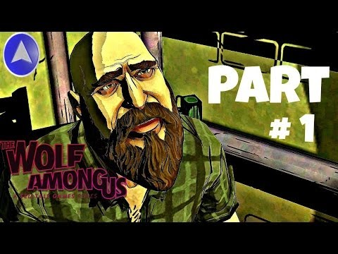Let's Play The Wolf Among Us: Episode 2 - Part 1 (Bluebeard / Interrogating the Woodsman)