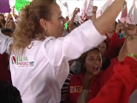 Recorren calles candidatos a diputados federales y escuchan propuestas de la ciudadanía