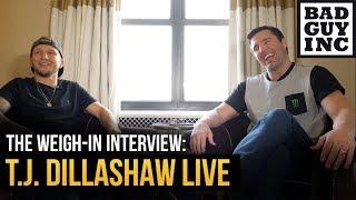 T.J. Dillashaw talks Tony Ferguson vs Justin Gaethje