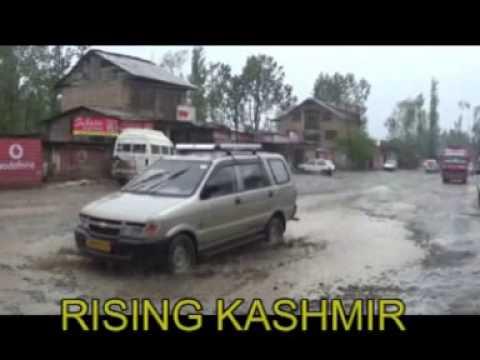 TOPSY-TURVY RIDE:Srinagar-Anantnag Road In Shambles