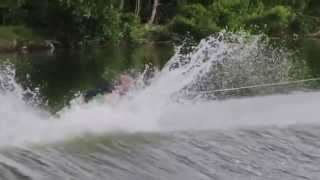 Best Wakeboarding Top Freestyle Tricks 2014 by Shaun Murray