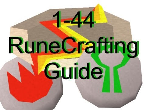 [Runescape 2007] Ultimate 1-44 RuneCrafting Guide! For Nature Runes