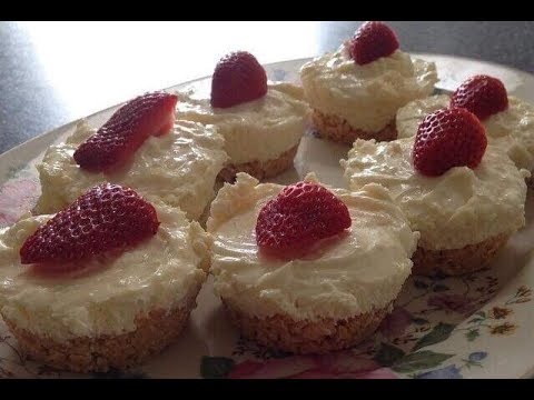 Mini Lemon Cheesecakes – RECIPE