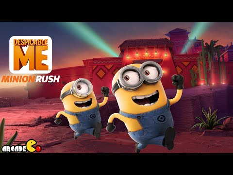 Despicable Me: Minion Rush - April Fool's Special Mission Eduardo's House Bmx Bike And Carl!!! video