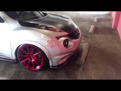 Nissan juke Nismo on air