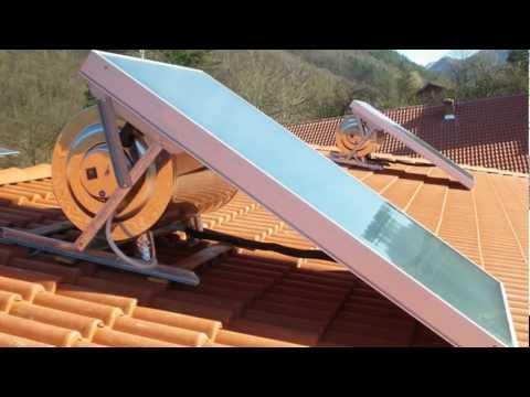 Installazione rapida pannello solare termico NEW EFFICIENT - CMG SOLARI