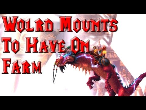 World Mounts To Have On Farm