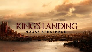 Game of Thrones Music & City Ambience | King's landing - House Baratheon Theme