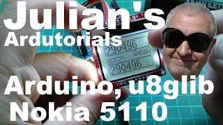 Julian's Ardutorials: Arduino, Nokia 5110 LCD & u8glib