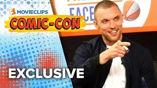 Never Have I Ever - Ed Skrein & Gina Carano - Comic-Con (2015) HD
