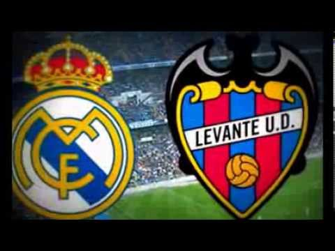 Real Madrid v.s Levante.