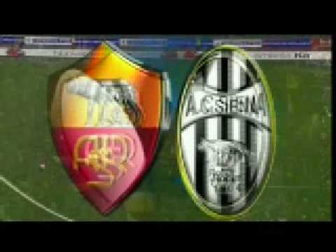 Roma-Siena Gol Di Rodrigo Ferrante Taddei