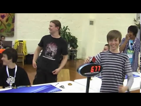 Rubik's cube former official world record 6.77 seconds Feliks Zemdegs