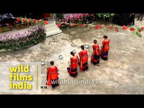 Chakma Dance From Tripura - Anthurium Festival, Mizoram video