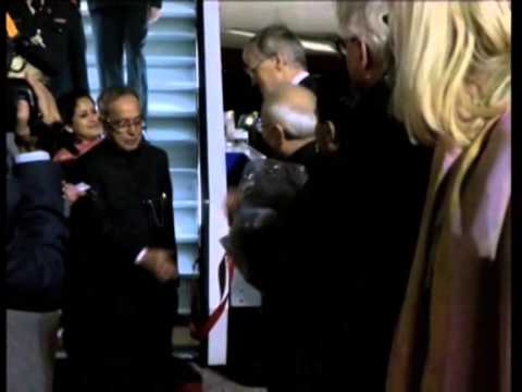 Indian president arrives in Finland