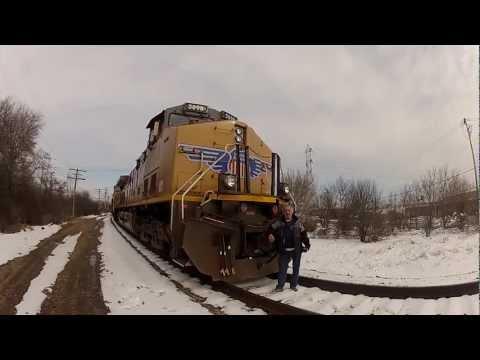 GoPro Hero2 vs Panasonic Lumis GH2 and Train HD