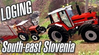 Loging, Towing in Sout-east Slovenia  [Universal & Štore 504]