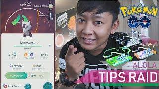 CARA NGALAHIN POKEMON ALOLAN MAROWAK DENGAN 3 TRAINERS 😱😱😱 (Pokemon GO Indonesia)