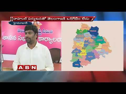 TRS MP Balka Suman Face to Face over Rahul Gandhi's tour