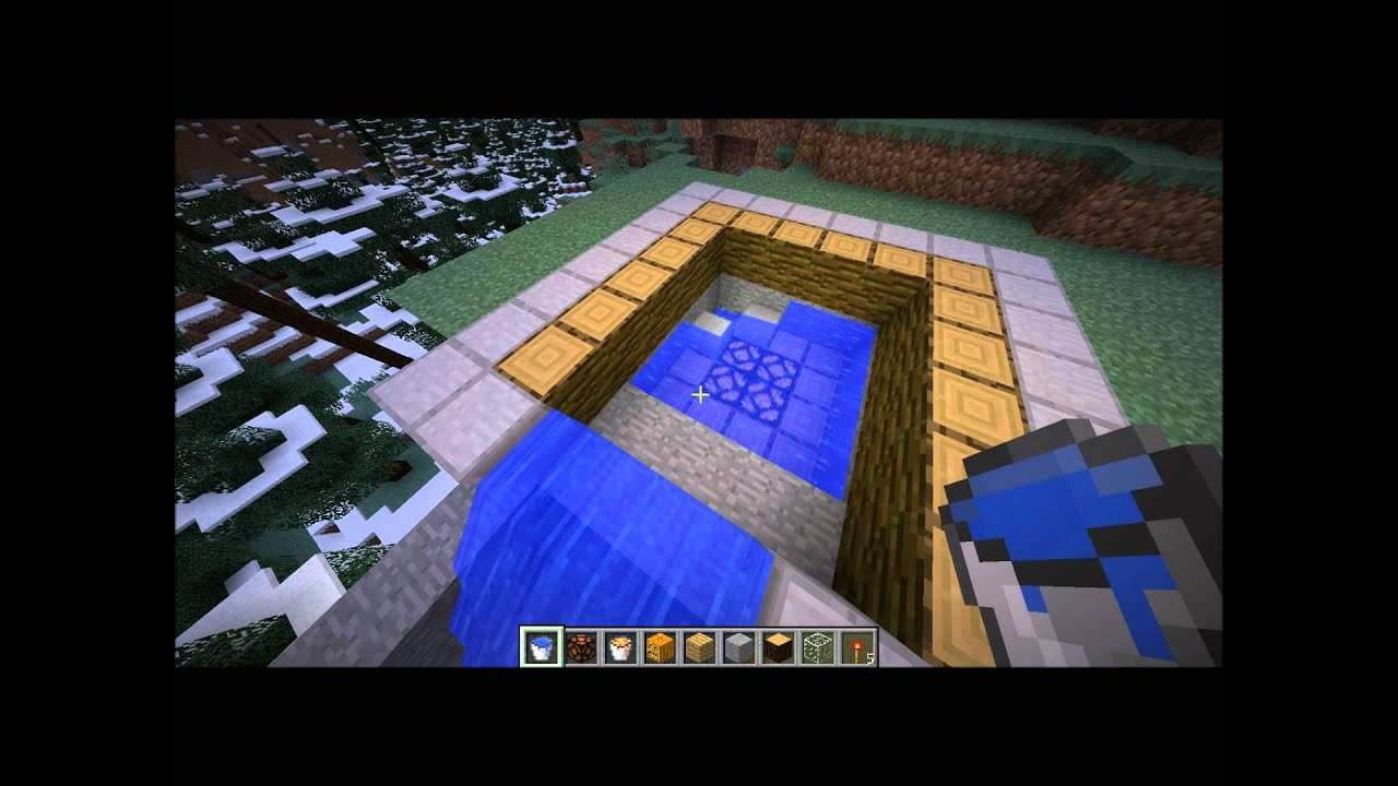 Comment faire une piscine de lux minecraft youtube for Une piscine