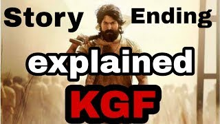 KGF story and ending explained | spoiler talk | ending explained | spoiler review