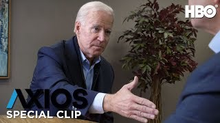 AXIOS on HBO: Joe Biden on Senator Elizabeth Warren (Season 2 Special Clip) | HBO