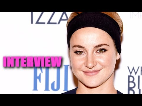 Shailene Woodley Talks Her First Nude Scene