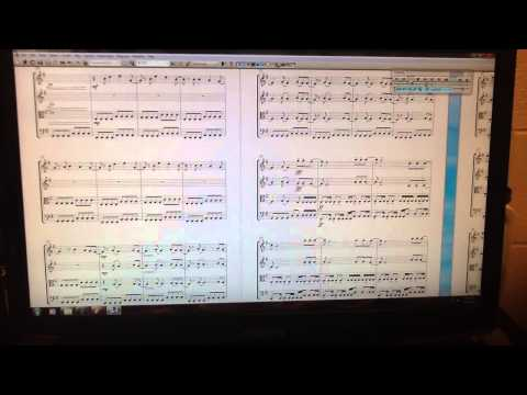 Smells Like Teen Spirit string quartet arrangement (with sheet music)