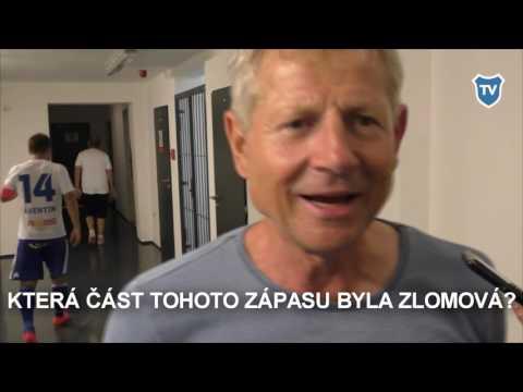 Rozhovor s Vlastimilem Petrželou po utkání ve Znojmě.