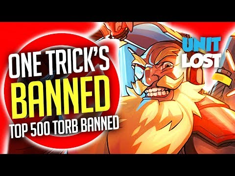 Overwatch - One Tricking Officially BANNABLE? One Trick Top 500 Torbjorn BANNED - What's Going On?