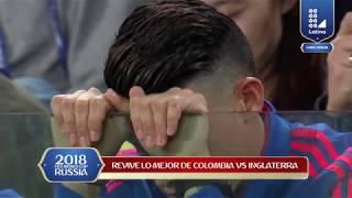Penales de infarto en el Colombia vs Inglaterra!