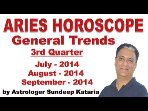 Aries Predictions July 2014, August 2014, September 2014 General Trends