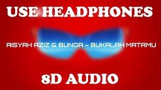 Aisyah Aziz & Bunga - Bukalah Matamu (Lyrics) 8D Audio   Ejen Ali The Movie OST   Syahmi Rosman