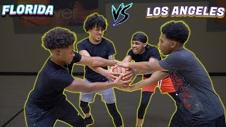 King Cid & SmoothGio Vs DDG & Deshae Frost! | INTENSE 2v2 BASKETBALL GAME!