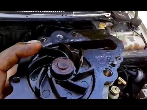 any dodge intrepid 2.7 water pump issues overheating. thermostat no heatting to heat core