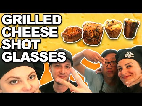 Grilled Cheese Shot Glasses 🍞🧀 ft. Hellthy Junkfood