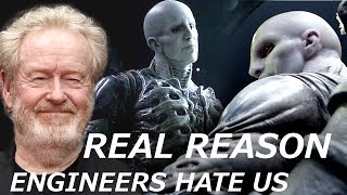 Ridley Scott Tells the REAL REASON Why Engineers Want to Kill Humans and Destroy Earth