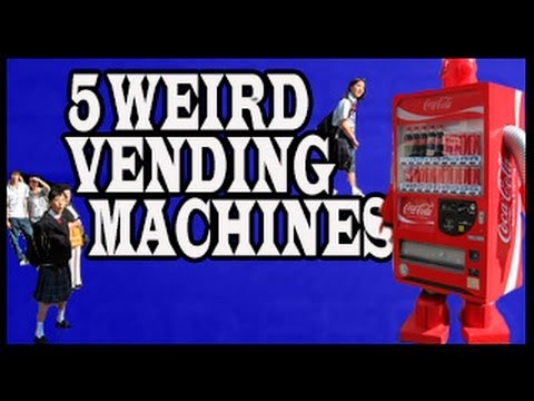 5 Crazy Vending Machines Around the World!
