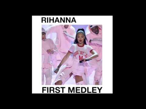 Rihanna  - First Medley VMA 2016 - (Studio Version)