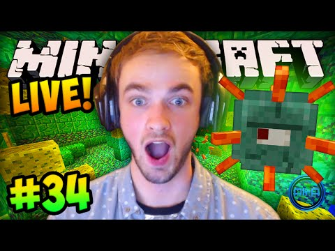 MINECRAFT How To Minecraft w Ali A #34 OCEAN MONUMENT