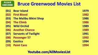 Bruce Greenwood Movies List