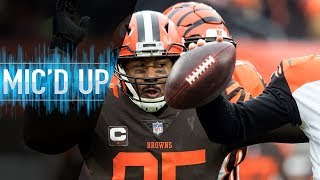 "Myles Garrett Mic'd Up vs. Bengals ""It really is nothing, but it's Baker"" 