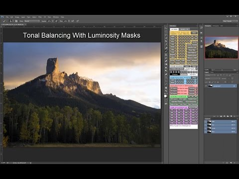 Tonal Balancing With Luminosity Masks