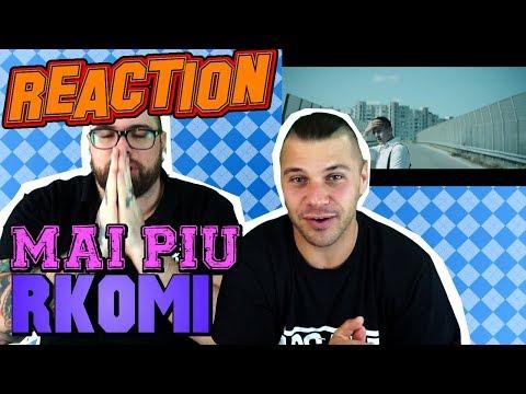 RKOMI - MAI PIU   RAP REACTION 2017   ARCADEBOYZ